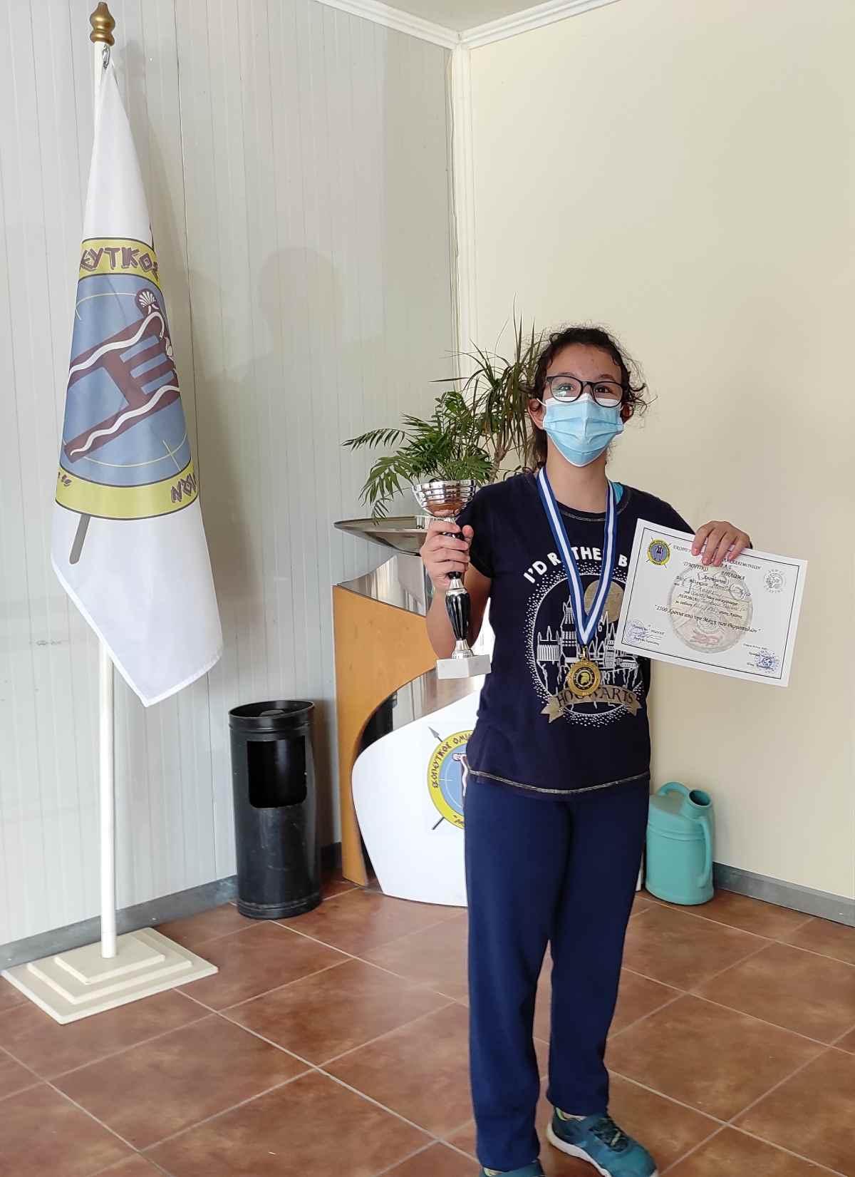 Άννα Μπιτσάνη Πρωταθλήτρια Ελλάδος